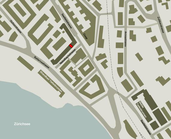 Karte von Nockarchitekten Büro, Nebelbachstrasse 9