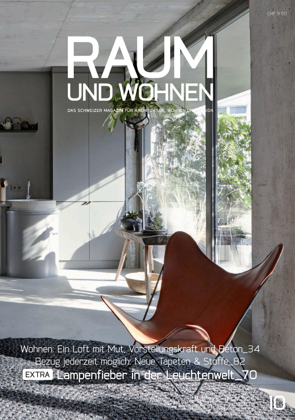Raum und Wohnen – Aktuelle Ausgabe der Zeitschrift mit interessanten News und Trends zu Themen wie Architektur, Wohnen, stilvolle Einrichtung